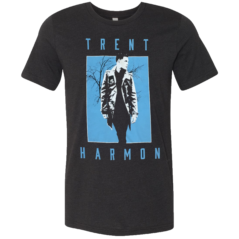 Trent Harmon Black Heather Photo Tee