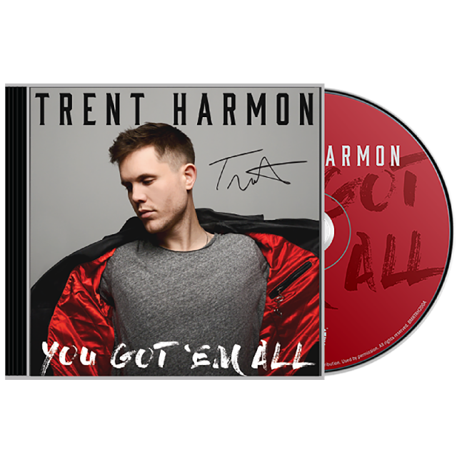 Trent Harmon CD- You Got' Em All