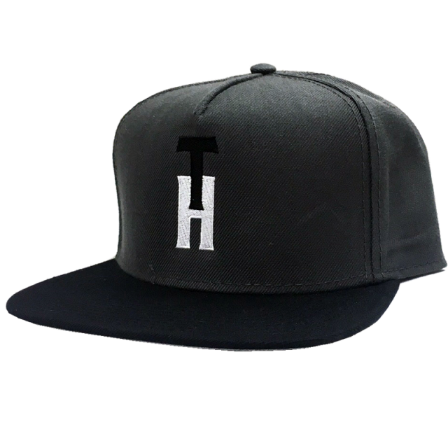 Trent Harmon Charcoal and Black Flat Bill Ballcap
