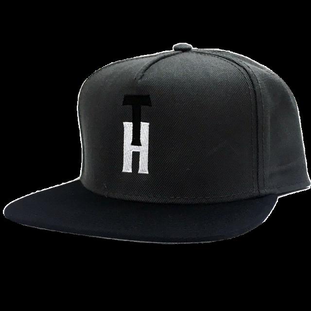 Trent Harmon Charcoal and Black Flat Bill Ballcap