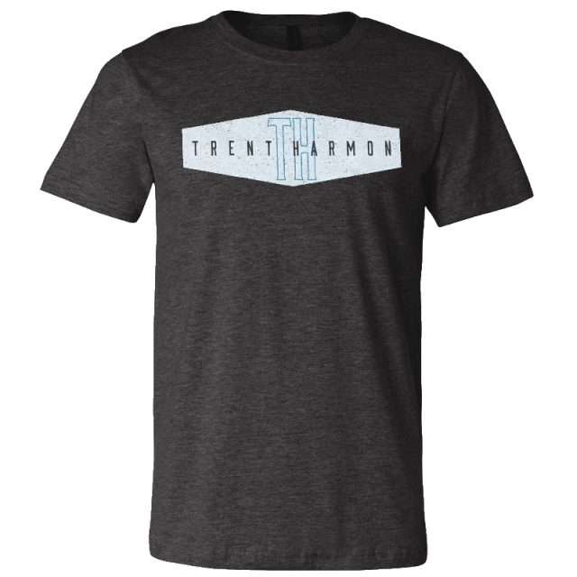 Trent Harmon Dark Grey Heather Tee