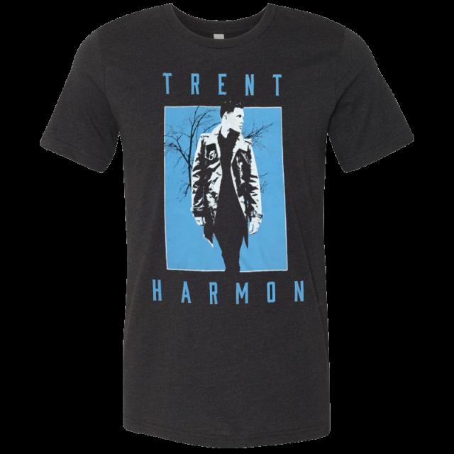 Trent Harmon Black Heather Photo Tee