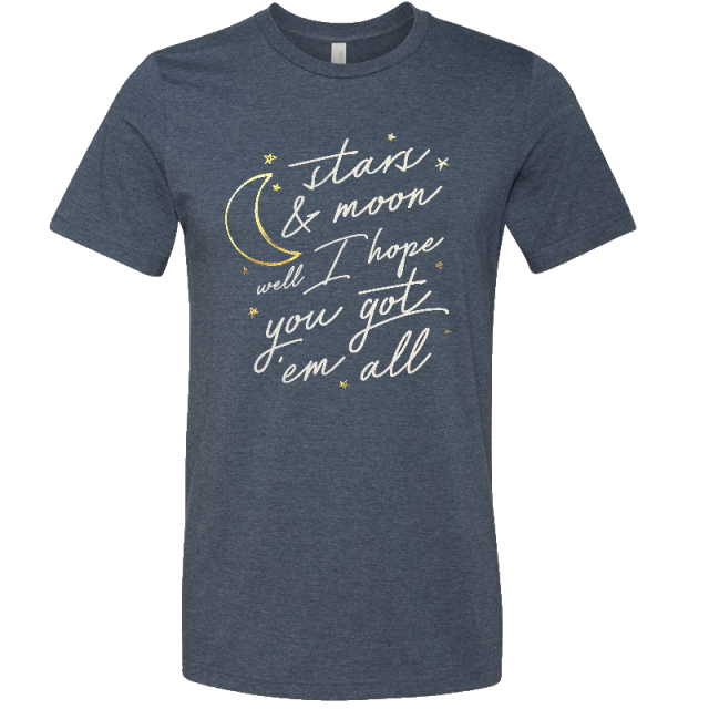 Trent Harmon Heather Navy You Got'em All Tee